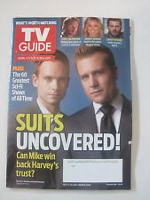 TV Guide V61N29 -Suits Uncovered - 15-July-2013 Double Issue