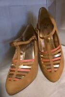 Seychelles Special Edition Antropologíe Heels, Shoes Upper Lether S, 8 women's