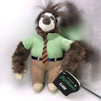 """Disney Zootopia FLASH SLOTHMORE 10"""" Plush Stuffed Animal Doll Toy Sloth Tomy NEW"""