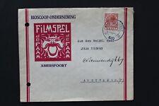 1930 NEDERLAND enveloppe met logo Bioscoop onderneming Filmspel de Faam