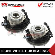 Fits Ford Explorer & Mercury Mountaineer 2 Front Wheel Bearing & Hubs 4.0L 4.6L