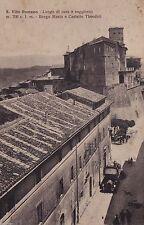 # S. VITO ROMANO: BORGO MARIO E CASTELLO THEODOLI