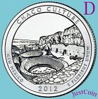 2012-D CHACO CULTURE QUARTER NATIONAL HISTORIC PARK FROM UNCIRCULATED MINT ROLL