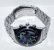 "SWATCH IRONY CHRONO ""WINDFALL"" YCS 410 EDELSTAHL TOP"