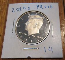 2010 S Proof Kennedy Half Dollar Clad Proof Key Date San Francisco Mint