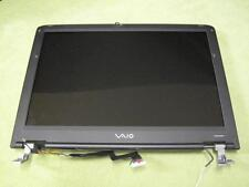 "15.4"" LCD SCREEN PANEL w/ BEZEL + HINGES + CABLE FOR SONY VAIO VGN-A140P"