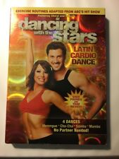 Dancing With The Stars - Latin Cardio Dance (DVD, 2008) NEW