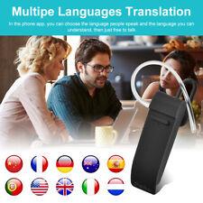 25 Languages Translator Translation Earphone Wireless Bluetooth Headset Dc825