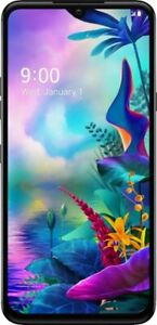 """LG G8X G850 128GB AT&T ONLY 6.4"""" Smartphone Cellphone Android Black X167"""