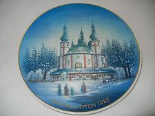 Rosenthal Piatto natale 1988 Waldsassen Chiesa di pilgrimage (meine Art.Nr. 8)