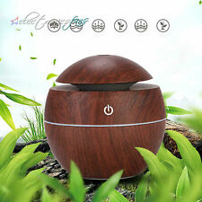 Home Aroma Essential Oil Diffuser Wood Grain Ultrasonic Aromatherapy Humidifier