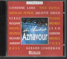 CD COMPIL 12 TITRES--ILS CHANTENT AZNAVOUR--LARA/DELPECH/TORR/GRECO/DAVE/PEYRAC