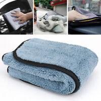 Serviette Super Absorbant Voiture Laver Microfibre Nettoyage Auto Séchage Tissu