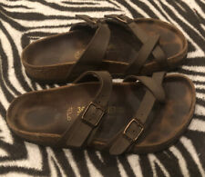 Birkenstock Womens Size 5 Mayari  Brown Sandals Very Good Preowned Condition