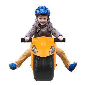 Motorbike Balance Kids Motorcycle Ride On Kids Childrens Foot To Floor Toy NEW