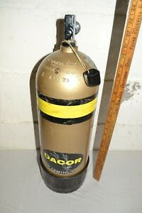 DACOR ALUMINUM SCUBA DIVING TANK UNTESTED OUT OF CERTIFICATION DATE