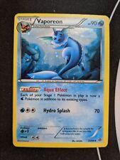 Vaporeon 22//98 Ancient Origin Tin Promo Holographic Rare Pokemon Card NM