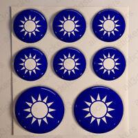 Hobby-semicirculares de resina Insignia Gráfico Pegatina Calcomanía caravana Oval-Individual