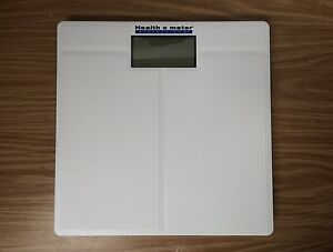 Health O Meter 800KL Ivory Plastic Digital Floor Scale