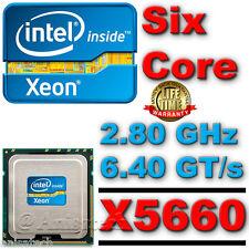 SLBV6 Intel Xeon Processor X5660 Six Core HEX 12M Cache 2.80 GHz 6.40 GT/s QPI