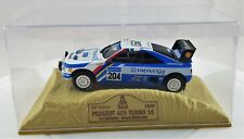 Lot 5  miniatures Paris dakar  et Pikes Peak 1/43