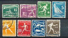 Nederland  212 - 219 gebruikt (4)