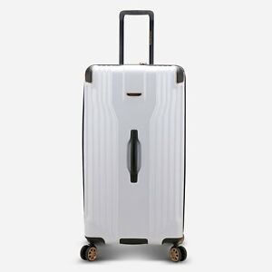 """Continent Adventurer 32"""" Large Anti-Theft Polycarbonate Trunk Spinner Luggage"""