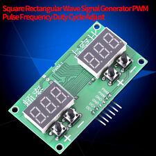 PWM Impuls Signal Generator 1-99% Frequenz 6Hz-100KHz für Schrittmotor Treiber
