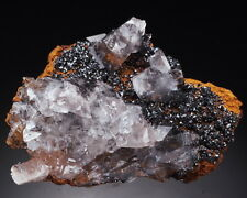 12 grammes - DESCLOIZITE, CALCITE very lustrous crystals - RARE !!! PORTUGAL