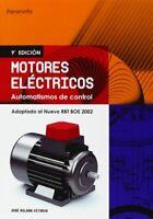 Motores electricos - automatismos de control