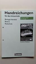 Biologie interaktiv 2 Lehrerbuch mit Lösungen Realschule Nordrhein Westfalen NEU