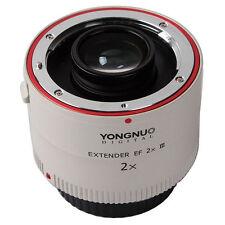 Yongnuo YN-2.0X III Teleconverter Extender Auto Focus Lens for Canon EOS EF Lens