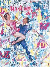 Laurent durrey: Collage I Imagen TERMINADA 60x80 Mural moderno
