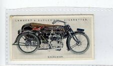 (Jd6097) LAMBERT & BUTLER,MOTOR CYCLES,EXCELSIOR,1923,#18