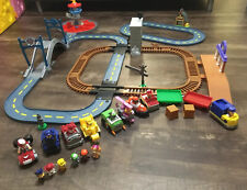 Paw Patrol Mega Roll Complete Track Sets Lookout Tower Tracks + Racers & Fig Lot