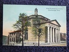 Early 1900's The First Presbyterian Church in Chattanooga, Tn Tennessee PC