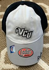 Vcu Rams Ladies Collection Hat Womens Vcu Rams Hat White And Black With Jewels