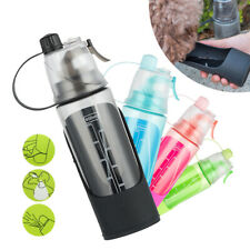 Portable Dog Travel Water Bottle Pet Dog Drinking Fountain Bowl Dispenser 600ML