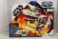 Star Wars Mission Fleet Jedi Starfighter with Anakin Skywalker Figure
