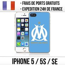 Coque iPhone 5 / 5S / SE - Olympique de Marseille / OM