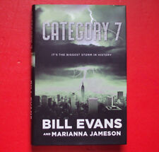 Category 7 by Bill Evans and Marianna Jameson (2007, Hardcover- Signed)