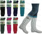 Ladies Plain Wellington Welly Wellie Liners Thermal Boot Socks Womens Adults 4-7