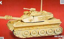 Militaire Tank Woodcraft Construction Modèle Kit, BRAND NEW