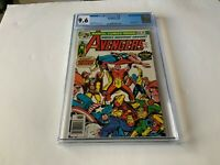 AVENGERS 148 CGC 9.6 WHITE PAGES SQUADRON SUPREME HELLCAT MARVEL COMICS 1976