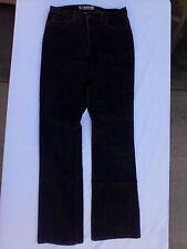 Women's jeans, stretch boot cut, black,  31 X 33 size Tall Bootcut