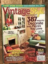 Vintage Style Magazine Winter 2013: 387 Ways to Decorate with Pieces You Love