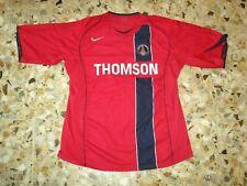 Maillot shirt jersey trikot ancien PSG PARIS ST GERMAIN 2004-2005 AWAY NIKE XL