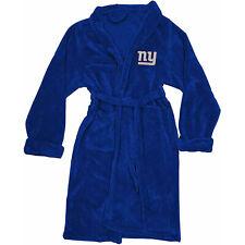 NEW NFL Football New York Giants L/XL Bathrobe Lounge Sleep Robe