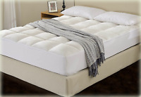 Cheer Collection Luxurious Microplush Mattress Topper Pad/ Protector Queen #3891