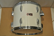 """1980's YAMAHA TOUR CUSTOM 13"""" TOM in PURE WHITE for YOUR DRUM SET! LOT #F765"""